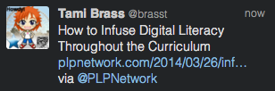 T-infusing digital literacy